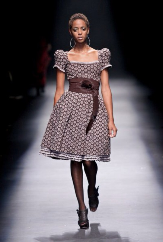 Bongiwe Walaza at Fashion Week