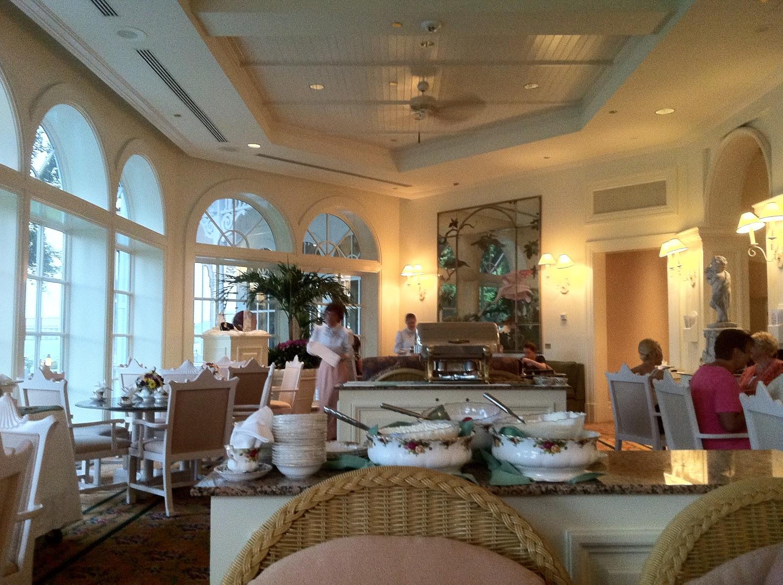 407 PINK: Grand Floridian Tea Room