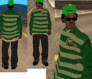 Camisas para GTA Lacoste Ryder's