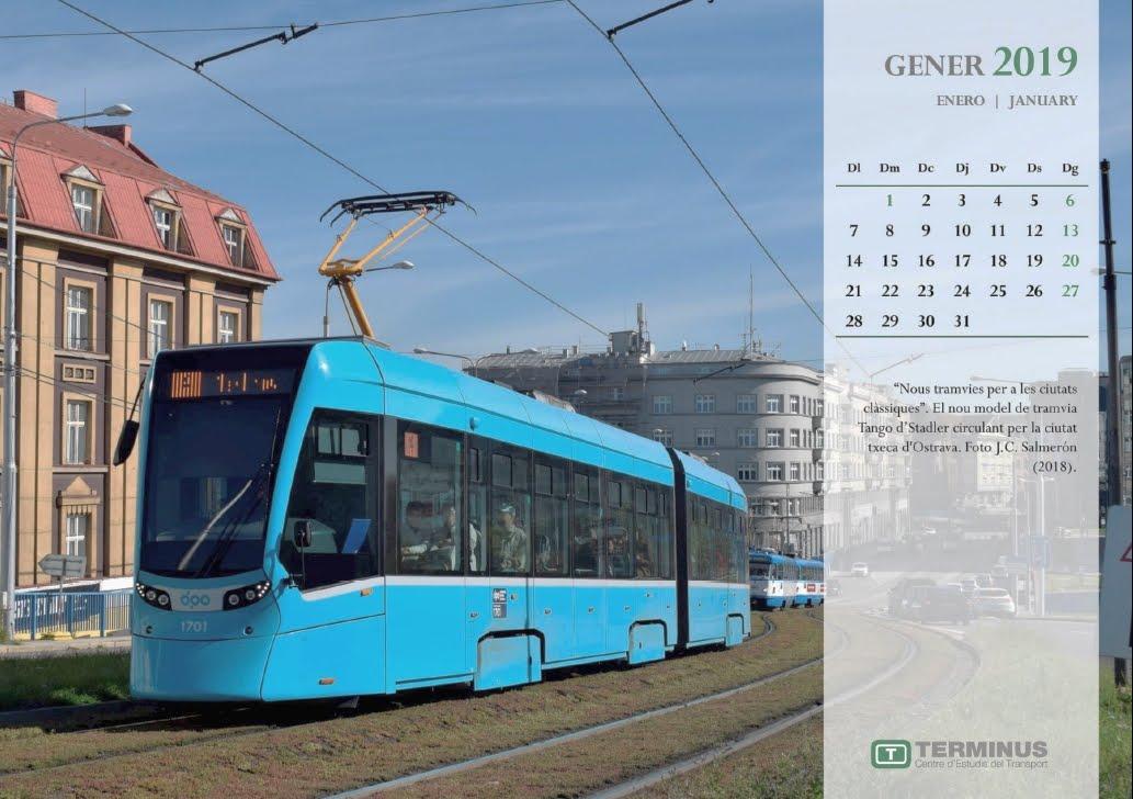 Calendari - Gener del 2019