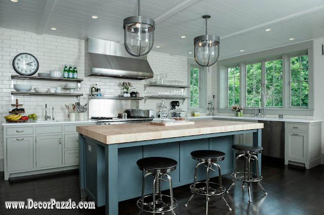 Inustrial style kitchen decor and furniture top secrets for Industrial style kitchen