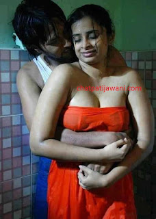 Image:Indian-Bhabhi-bathroom-sex-chudai-with-dewar-shower-in-wet-saya-blouse