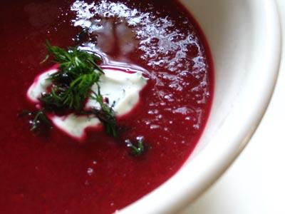 how to make beet borscht