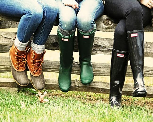 Ll bean duck boots preppy - photo#27