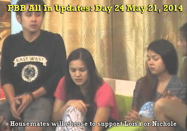 PBB All In Updates: Day 24 May 21, 2014