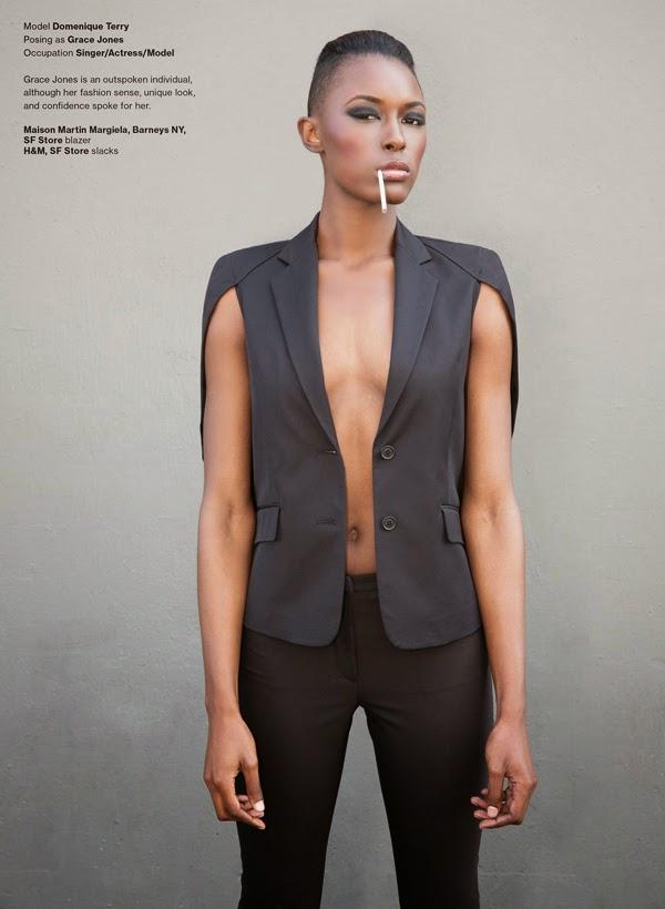 Domenique Terry - SOMA Magazine - Cast Images - Claudia Goetzelmann