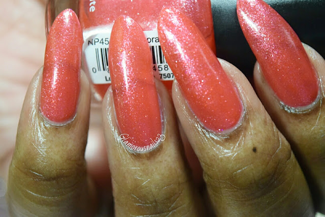 "L.A.Colors Color Craze ""Coral Reef"" Swatch"