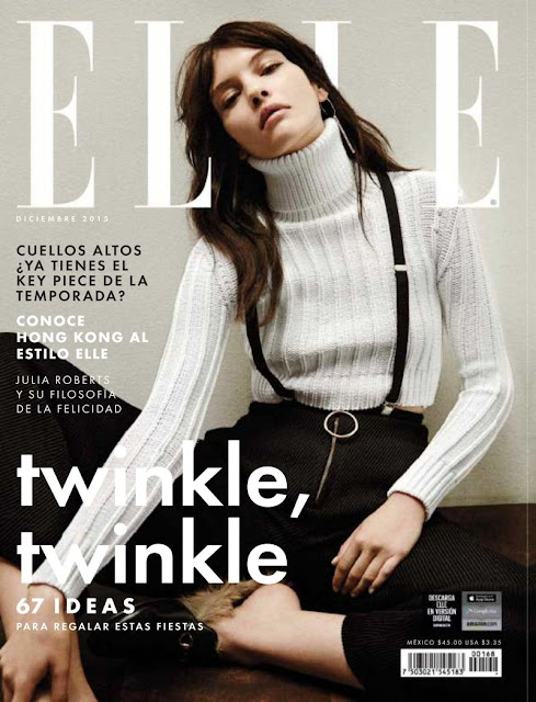 Fashion Model, @ Kate Bogucharskaia - Elle Mexico, December 2015