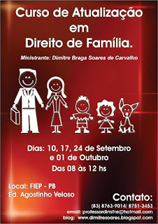 Curso de Atualização em Direito de Família