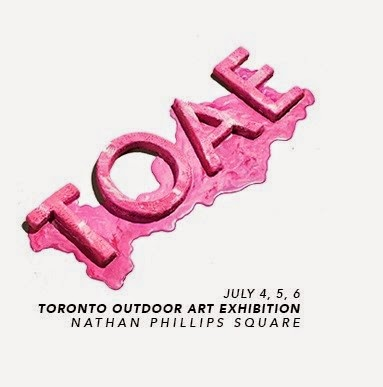 Toronto Outdoor Art Exhibition at Nathan Philips Square: July 4 - 6, 2014, Culture, Artmatters, artists, awards, City Hall, Canada, sale, Melanie_Ps, The Purple Scarf