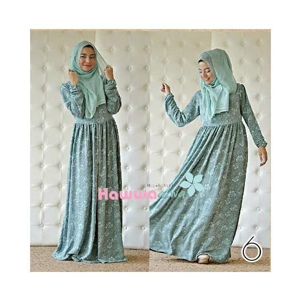 RUMAH HIJAB SAVANA: ROSYLIN DRESS By Hawwa Aiwa