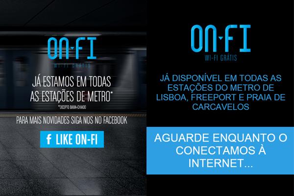 ONFI free wifi Lisbon, Portugal