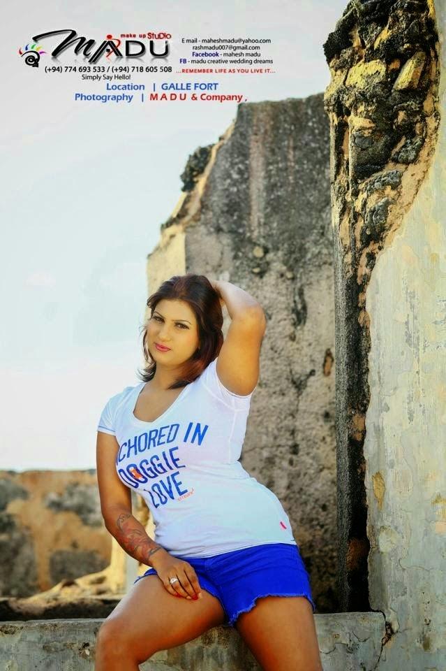 Chathuni Nivarthana Blue Photos