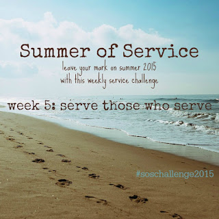 While I'm Waiting...Summer of Service
