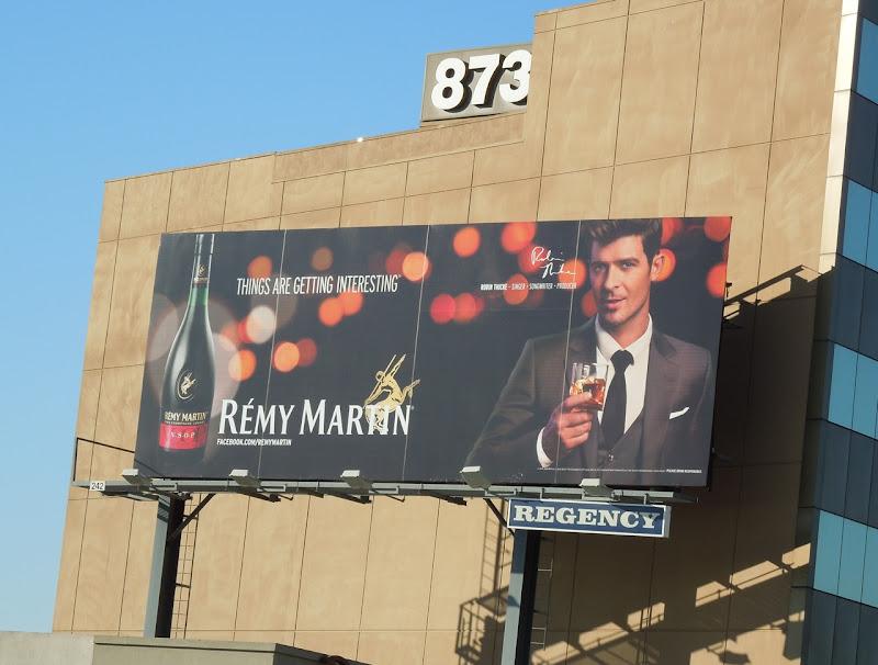 Remy Martin Robin Thicke billboard