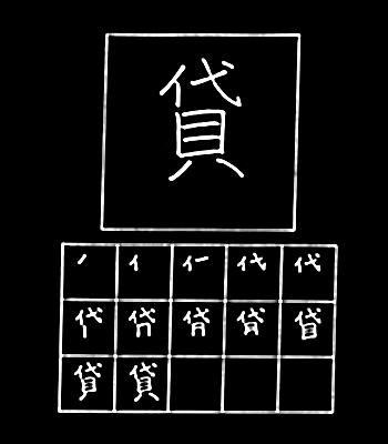 kanji meminjamkan