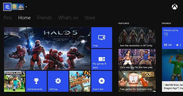 Xbox One February 2015 update