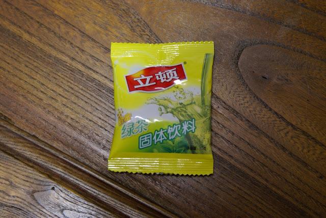 thé en poudre