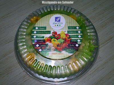 Alecrim Alimentos Saudáveis: Embalagem da Salada Caribe