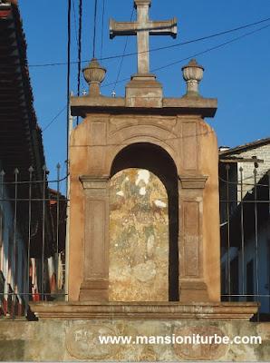 San Michael's Font in Pátzcuaro, Michoacán