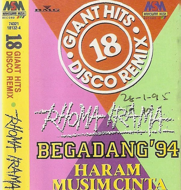 Rhoma Irama 18 Giant Hits Disco Remix