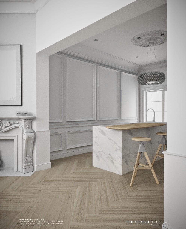Kitchen Modern Classic: Minosa: Classic Modern Kitchen & Bathrooms By Minosa