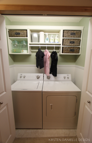 Our Laundry Closet Makeover Through The Front Door