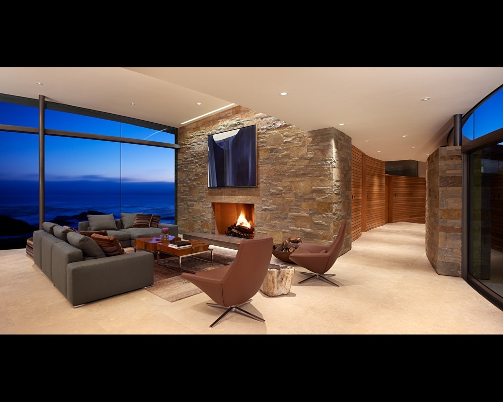 Most beautiful houses in the world ocean front home - Decoracion con piedra ...