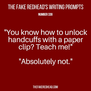 Weekly Writing Prompt/Inspiration