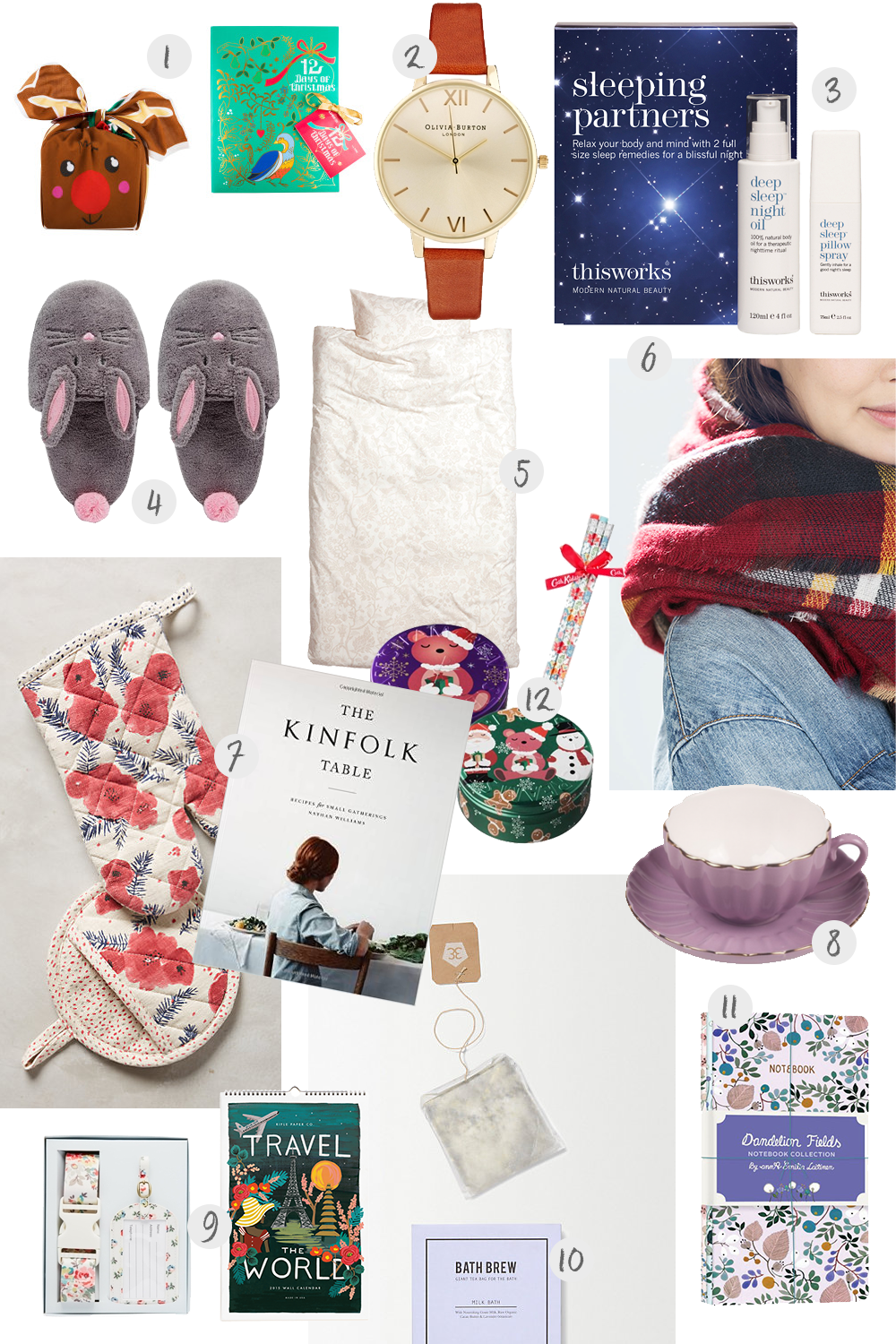 Christmas gift guide for her miel caf Best xmas gifts for her