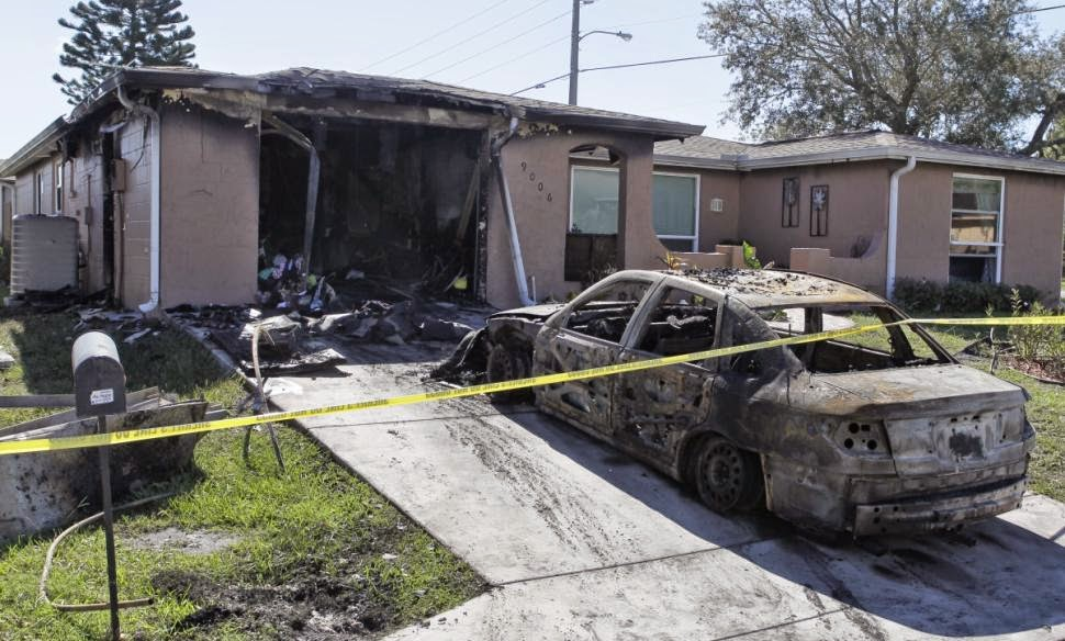 Florida Teen Burns Down Her House: Image Courtesy of NYTimes