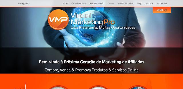 Virtual Marketing Pro Uma Plataforma, Muitas Oportunidades - Site Oficial