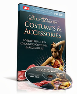 BONUS #5 - Guide To Costumes & Accessories : belly dancing course