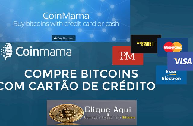 COMPRE BITCOINS COM CARTÃO DE CREDITO