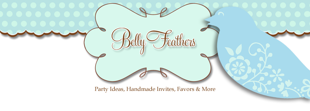 Belly Feathers :: Handmade Party Ideas by Betsy Pruitt