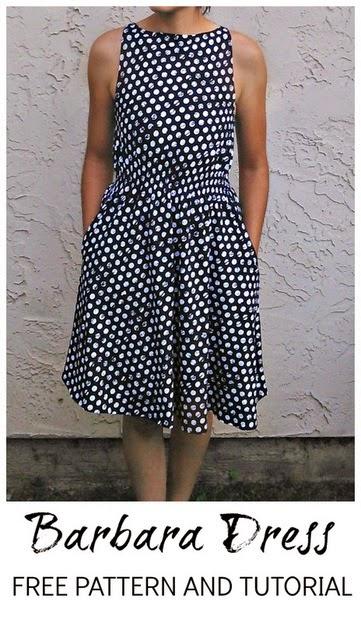 Modern Dress Pattern