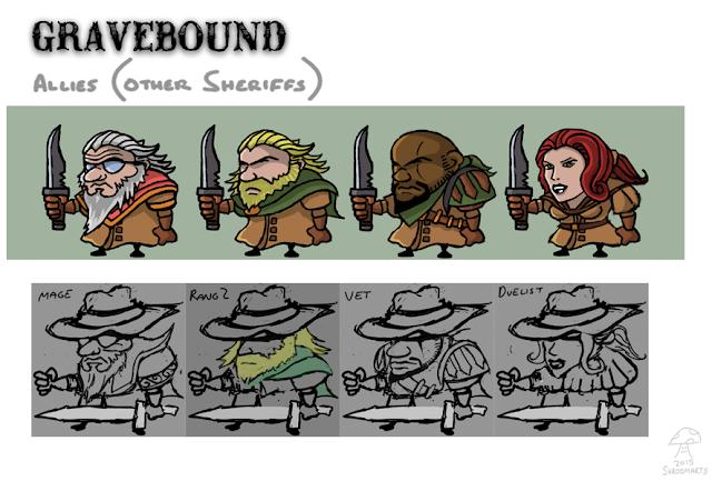 gravebound allies
