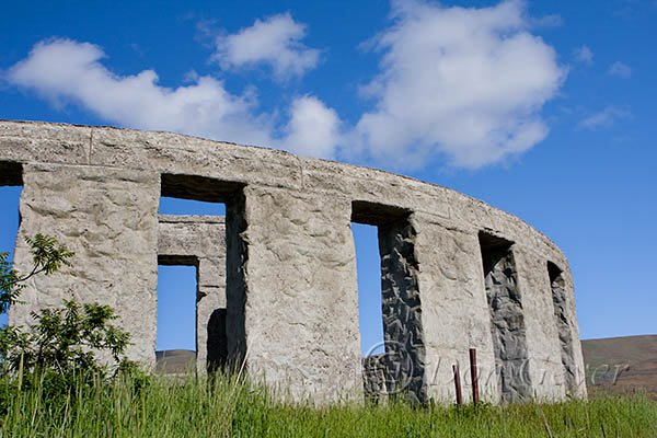 The Stonehenge Memorial on May Hill in Washington State.