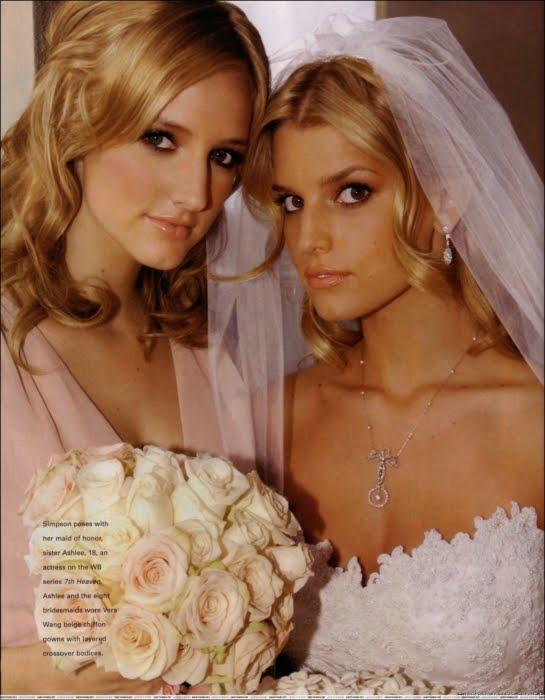 Jessica simpson wedding pictures wedding pictures for Jessica simpson wedding dress
