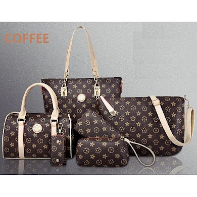 MULTI FUNCTION BAG (6 IN 1 SET) - COFFEE