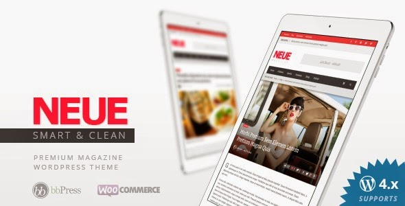 NEUE Themeforest Smart & Modern Magazine