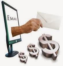 e-mail dinheiro