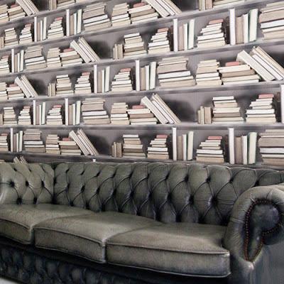Papel de Parede com Livros