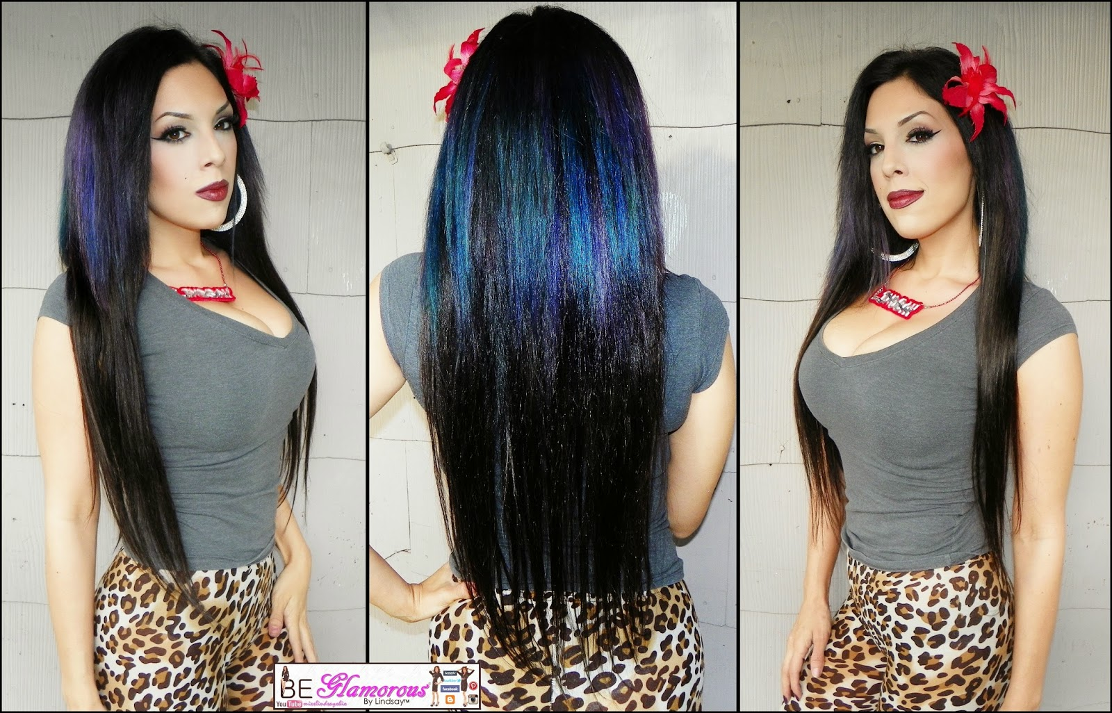 Be Glamorous By Lindsay Dy777 Hair Extension Reviewtutorial