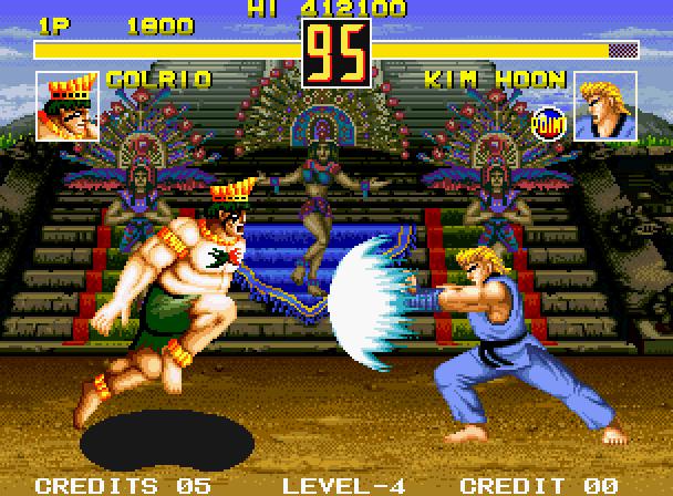 FIGHT FEVER (NEO GEO)