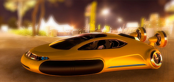 Futuristic Volkswagen Concept Car – Aqua Seen On www.coolpicturegallery.us