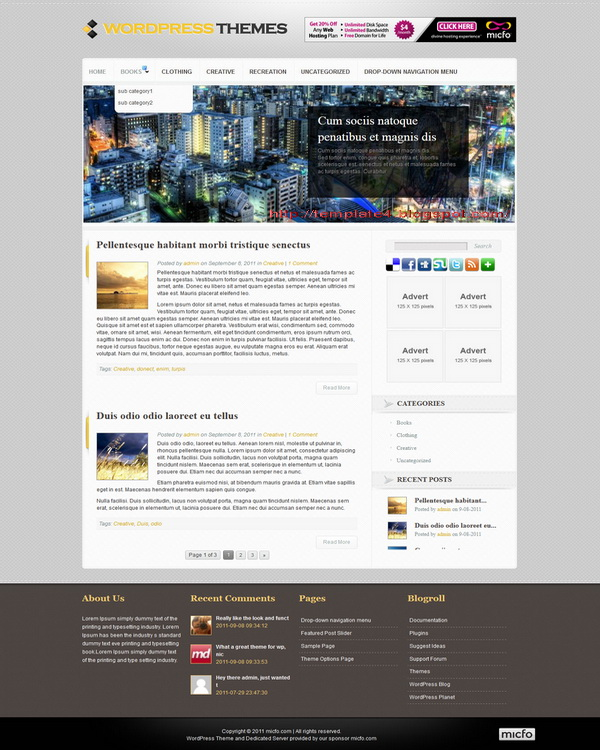 Powerific WordPress Theme