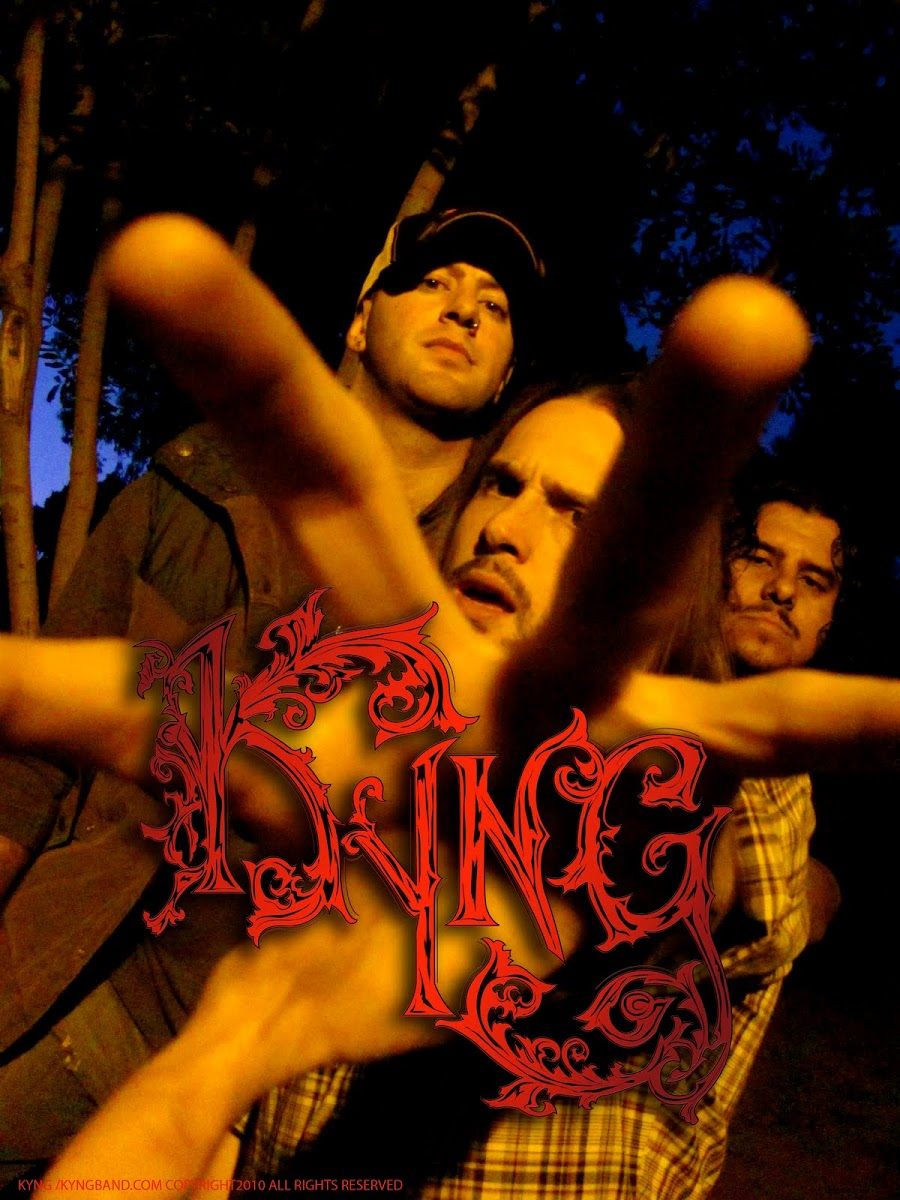 "KYNG ""groove metal"" ""hard rock"" ""classic rock"" ""horns up rocks"" ""jo schuftan"" ""los angeles"" ""jose mangin"" ""sirius xm liquid metal"" ""pantera"" revolution is my name"""