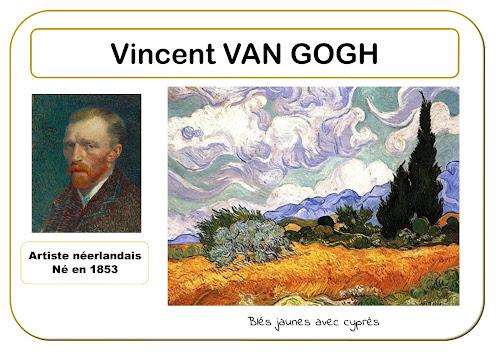 Vincent Van Gogh - Portrait d'artiste en maternelle