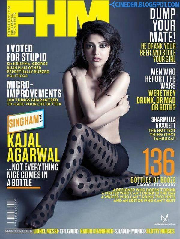 Kajal Agarwal on FHM India Magazine September 2011